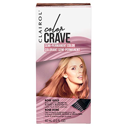 Clairol Color Crave Semi-Permanent Hair Color, Rose Gold