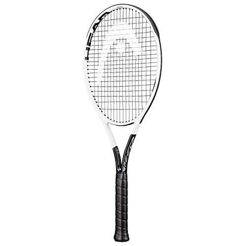 Head Graphene 360+ Speed Pro Encordado: No 310G Raquetas De Tenis Raquetas De Competición Blanco - Negro 3