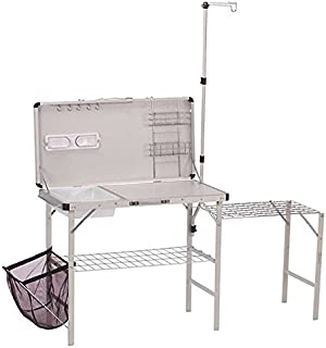 Lisongin Coleman Portable Deluxe Pack-Away Camp Kitchen w/Food Prep Area | 2000020275 -P#EWT43 65234R3FA684093