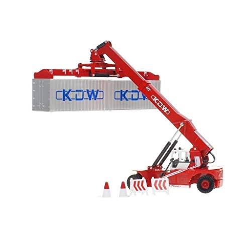 Simulieren Legierung Technik-LKW-Kran Container Gabelstapler.Größe: 11.5x6.3x19.8CM