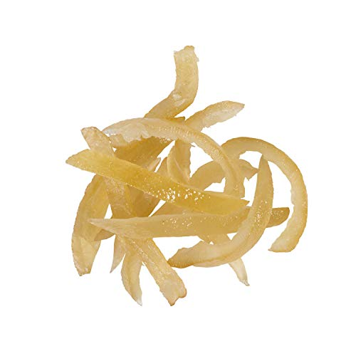 OliveNation Candied Lemon Peel Slices, Sweet and Tart for Baking, Cooking, Snacking, Imported from Italy - 2 pounds