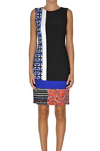 Luxury Fashion | Joseph Ribkoff Dames MCGLVS00000B7117E Zwart Polyester Jurken | Seizoen Outlet