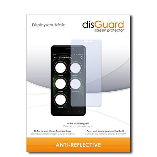 disGuard® Bildschirmschutzfolie [Anti-Reflex] kompatibel mit Allview P9 Energy Mini [2 Stück] Entspiegelnd, Matt, Antireflektierend, Extrem Kratzfest, Anti-Fingerabdruck - Panzerglas Folie, Schutzfolie