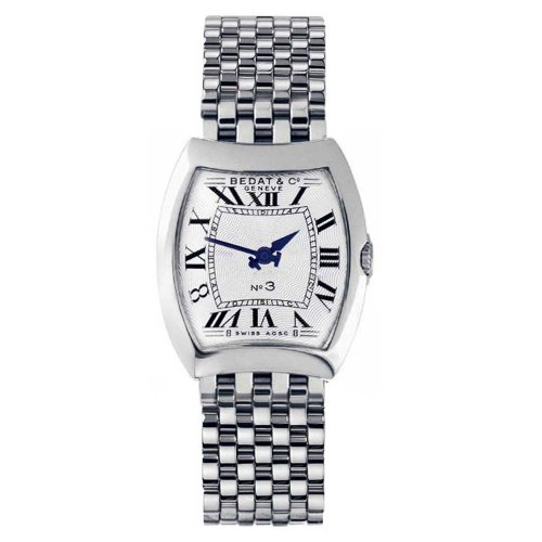 Bedat & Co. Women's 304.011.100 No.3 Silver Bracelet Watch