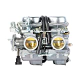 ZXTDR PD26JS 26mm 250cc Carburetor Carb for Chinese Regal Raptor Motorcycle Twin Cylinder Engine