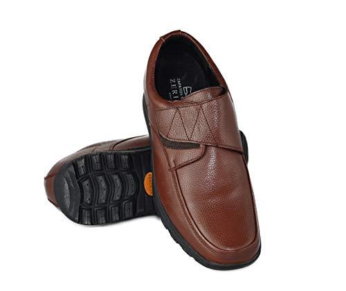 Zerimar Zapatos con Alzas Interiores para Hombres Aumento 7 cm | Zapatos de...