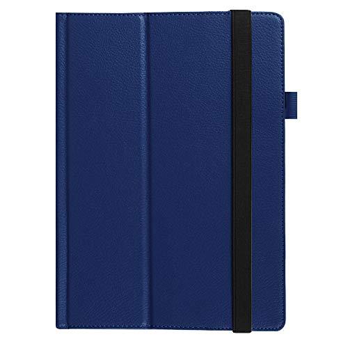 Geeignet für Lenovo MIIX310 Schutzhülle MIIX 310-210 Tablet Computer Ledertasche 10 Zoll Stützhülle-Marine_Lenovo MIIX310