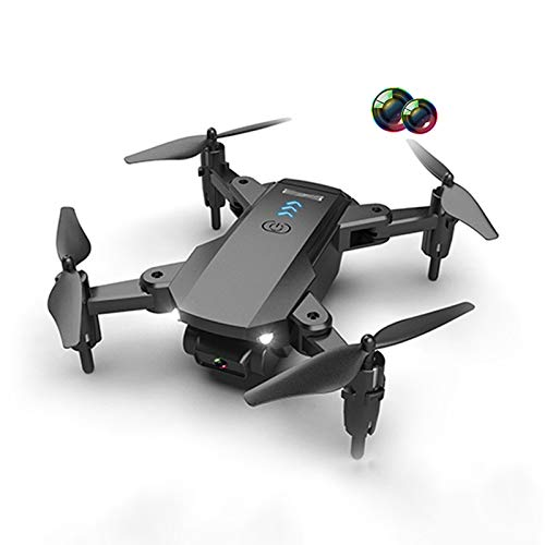 Mini RC Drone with 4K HD Dual Camera for Beginner, App Connection Adjust Speed WiFi FPV Live Video Gesture Operation, Headless Mode Foldable Quadcopter for Adults Kids