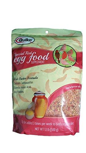 Quiko Special Red Eggfoods - Net Wt. 1.1 lbs