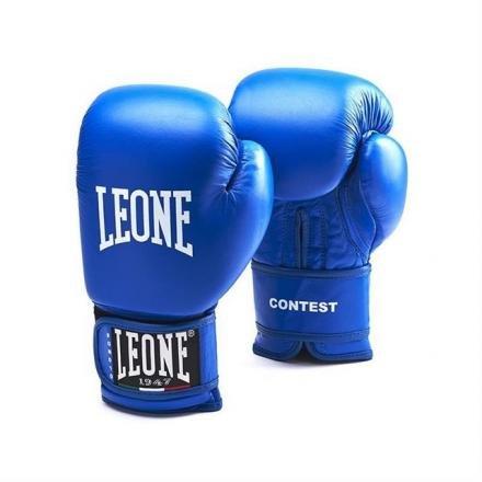 Boxhandschuhe Contest Löwe blau Größe 10oz Löwe Sport
