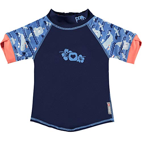 Close Camiseta solar talla 3, Whale