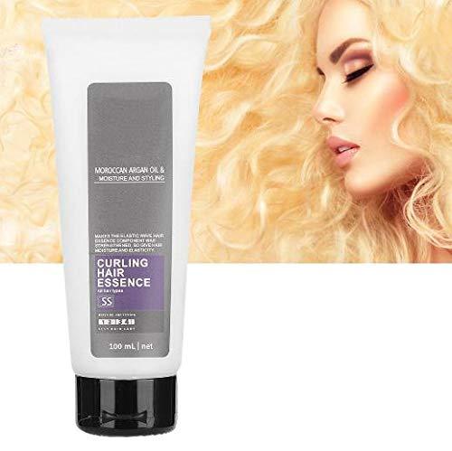 Hair Curl Enhancer, Hair Curly Conditioner Be Curly Enhancer to Anti Frizz Hair Elastin Hair Volumizing Gel Producto para el cuidado del cabello para el hogar del salón(1)