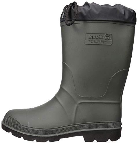 Kamik Men's Hunter Snow Boot, Khaki, 10