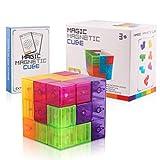 Creamon Magnetische Bausteine Puzzle, Bertom Store Magnetische Bausteine Magnetische Tetris Puzzle Denkaufgabe Stressabbau Spielzeug