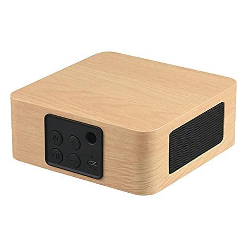 Altavoz inalámbrico de madera Boombox Gaming Soundbox 3D Surround Stereo Pc con soporte Aux 3.5mm Audio USB
