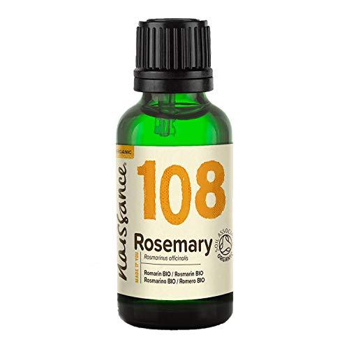 Naissance Aceite Esencial de Romero Bio 30ml - 100% Puro, Certificado
