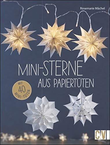 Mini-Sterne aus Papiertüten: Mit 40 Mini-Tüten