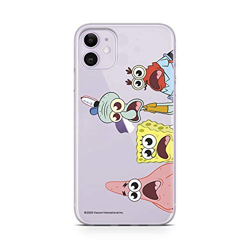 ERT GROUP Original Spongebob Handyhülle Spongebob 013 iPhone 11 Phone Case Cover, Mehrfarbig