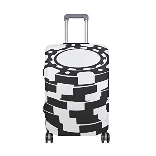 Poker Chip Travelers Choice Travel Equipaje con Ruedas giratorias Maleta con Equipaje de 24 Pulgadas