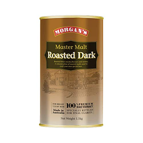 Morgan's Mast Malt Unhopped Malt Extract - Roasted Dark 1.5KG