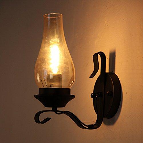 JSJ - lampe de mur chinoise lampe de chevet créative de chambre à coucher