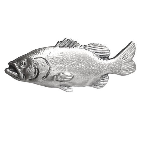 ISHOKUYA(衣飾屋) 釣り人シリーズ ユニーク 魚 タイピン タイ止め タイバー ブラックバス