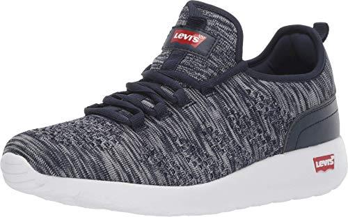 Levi's¿ Zapatos Apex KT para Hombre, Multi (Azul Marino/Gris), 46 EU