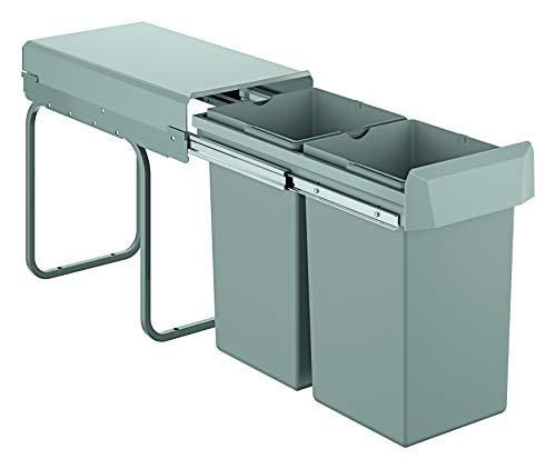 GROHE Blue Accessoires | Mülltrennsystem 30 cm 15 l | grau | 40855000, 30 cm - 15 l / 15 l, Trennung 2-fach