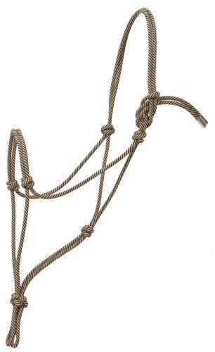 Weaver Leather Silvertip #95 Seilhalfter, Schwarz/Braun, Average