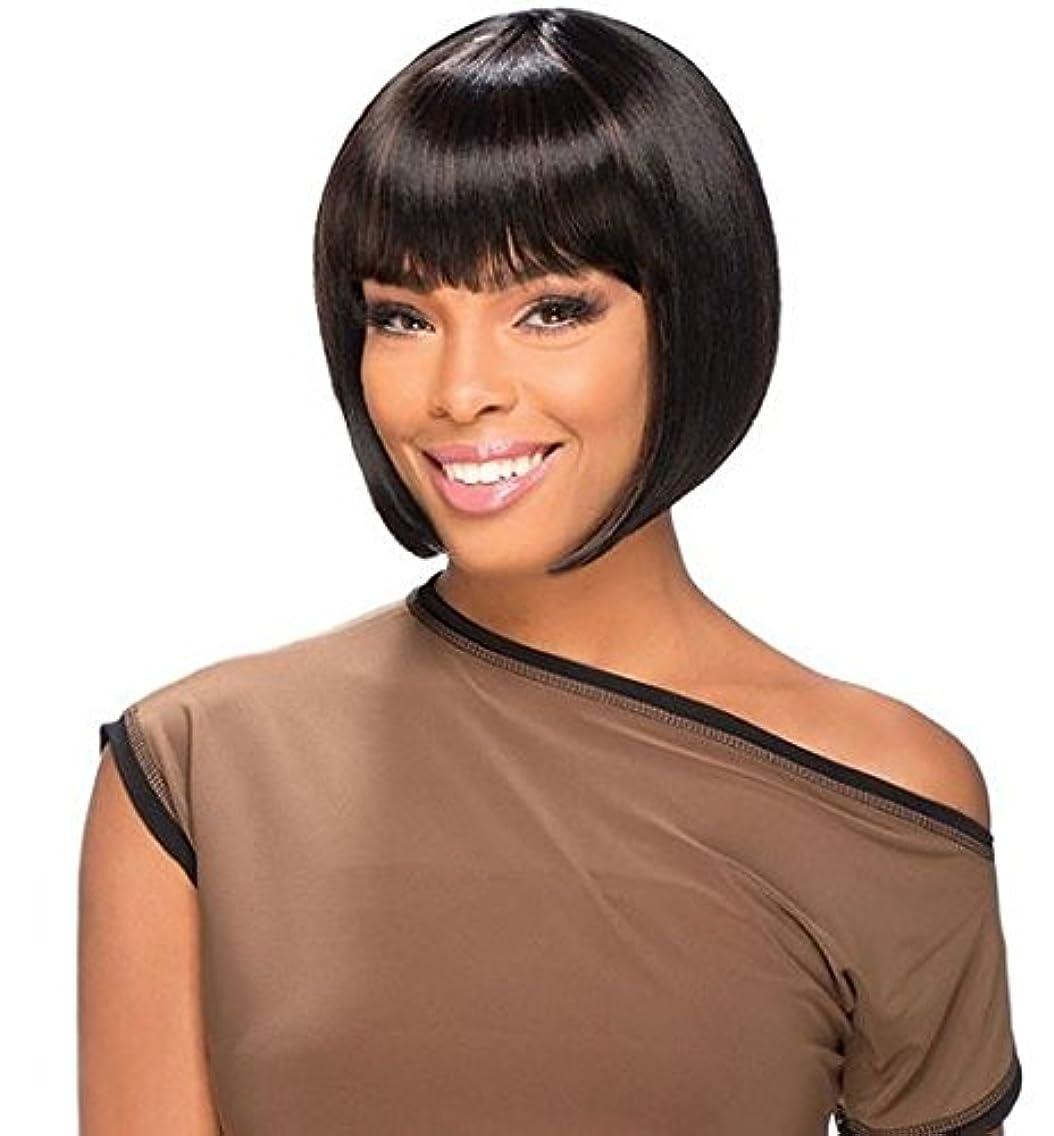 Vella Vella wig Style Lucia Heat Resistant Premium Fiber (1 Jet Black)