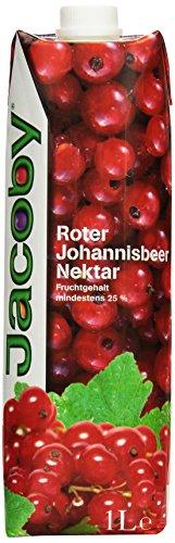 Jacoby Johannisbeernektar rot, 6er Pack (6 x 1 l)