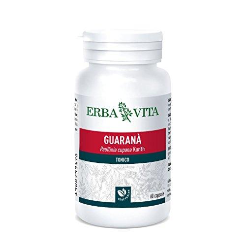 Erba Vita Integratore Alimentare di Guaranà - 60 Capsule