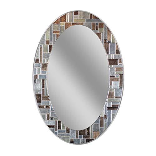 Headwest Windsor Oval Tile Wall Mirror, 21