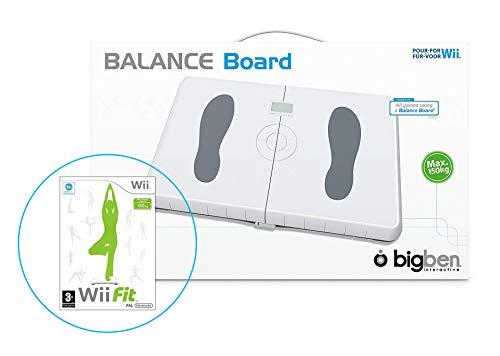 Wii Balance Board (Weiß) + Wii Fit
