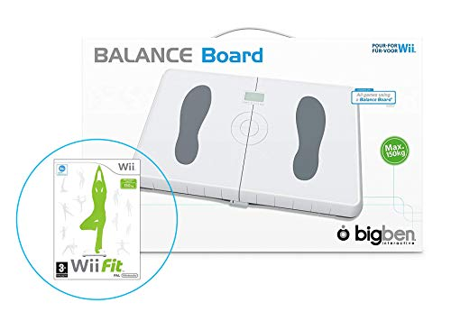Wii Balance Board (Weiß) - Inklusive dem Spiel Wii Fit