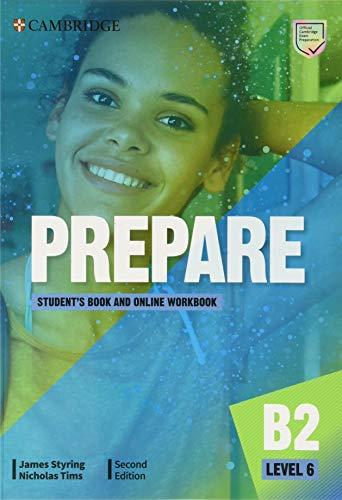 Prepare Second edition. Student's Book and Online workbook. Level 6 (Cambridge English Prepare!)