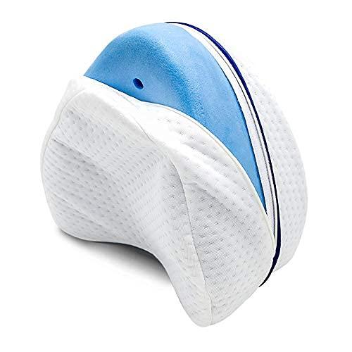 Almohada de cuello de malla de aire 3D para dormir, almohada cervical de altura ajustable, almohada ortopédica para el cuello, para el lado, la espalda y..