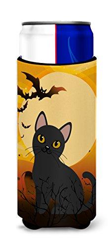 Caroline tesoros del Halloween gato Bombay Michelob Ultra Hugger para Slim latas, puede, multicolor