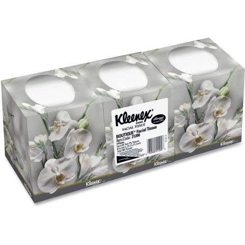 KleenexR BOUTIQUETM Facial Tissues 95 Tissues Per Box Pack Of 3 Boxes