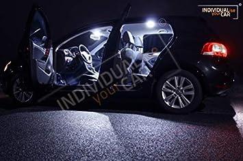 Innenraumbeleuchtung Set Für Golf 6 5 Türer Pure White Auto