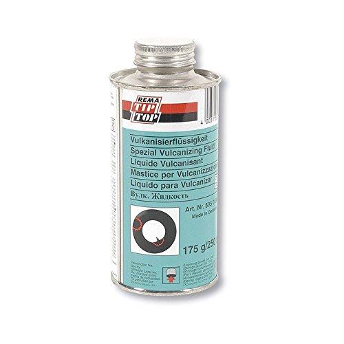 Tip-Top – 33272 – fles met vulkaniserende lijm om op te naaien met borstel, 175 g