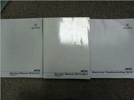 Amazon.com: service manual acura mdx: Books on