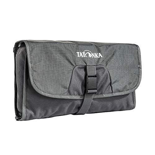 Tatonka Small Travelcare Trousse de Toilette Unisexe pour Adulte Gris Titane 17 x 25 x 4 cm