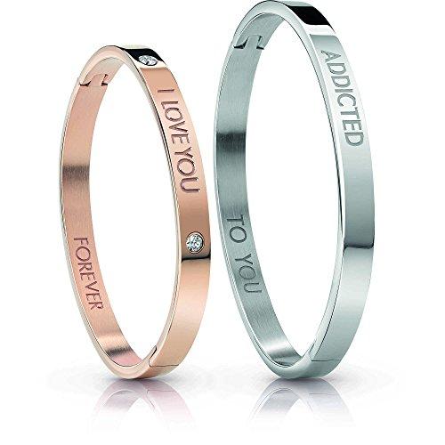 Guess Damen Armband Schmuck Lovers Bangle Trendy UBS84405