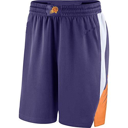 ZHILIN pantaloncini uomo Phoenix Viola,Suns 2018/19 Icon Edition Swingman Basketball shorts per gli uomini