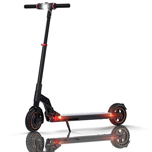 AZAMPA Elektroscooter 25 km Lange Reichweite Elektro Scooter 350W City E Roller Elektroroller Faltbarer E Tretroller Elektro Roller, 8'' Wabenreifen E-Scooter Erwachsene, S1 Plus