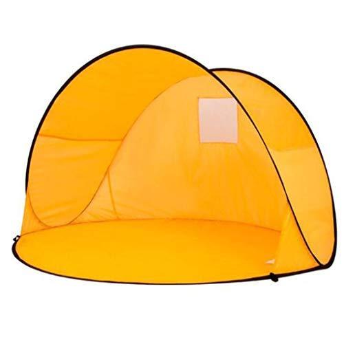 LHQ-HQ 2 persona Tienda de la playa, portátil instantánea Pop Up Sun Refugio-automática familia Toldo UV tienda de campaña for camping, pesca, senderismo, Picnicing-al aire libre ultraligero Canopy ti