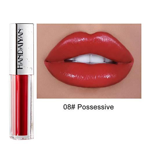 Lippenstift TTLOVE Wasserdichte Langlebige Lipgloss FlüSsige Samt Liquid Lipsticks, Matte Makeup...