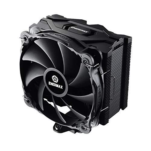 ENERMAX ETS-F40-FS - Ventilador de CPU (200 W, TDP para Intel/AMD Ryzen, 14 cm, PWM, silencioso), Color Negro