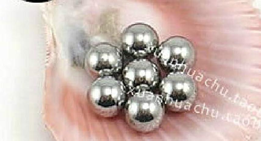 式ジャーナリストギャロップFidgetGear 100個のステンレス鋼のマニキュアアジテータ混合ボール6 mm 0.25インチ